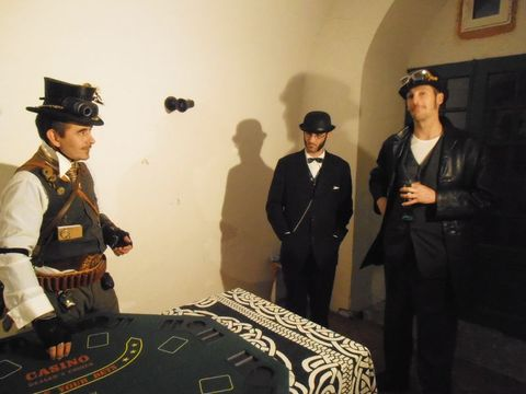 Murder party, Chateau de Vares, 2014