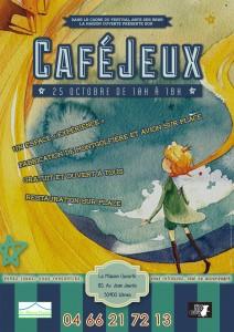 Affiche jeux Petit prince - 25 Oct